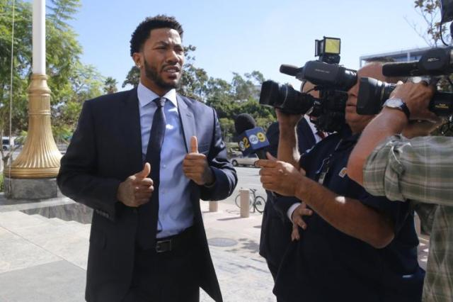 derrick rose lawsuit basketball