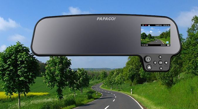 Papago GS260 US Rear View Mirror Full HD Dashcam Product Review on CoolPile.com 1