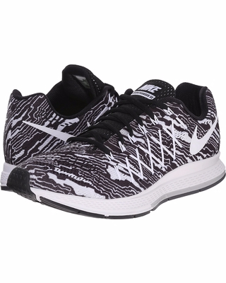 nike air zoom pegasus 32 print black pure platinum white mens running shoes 1