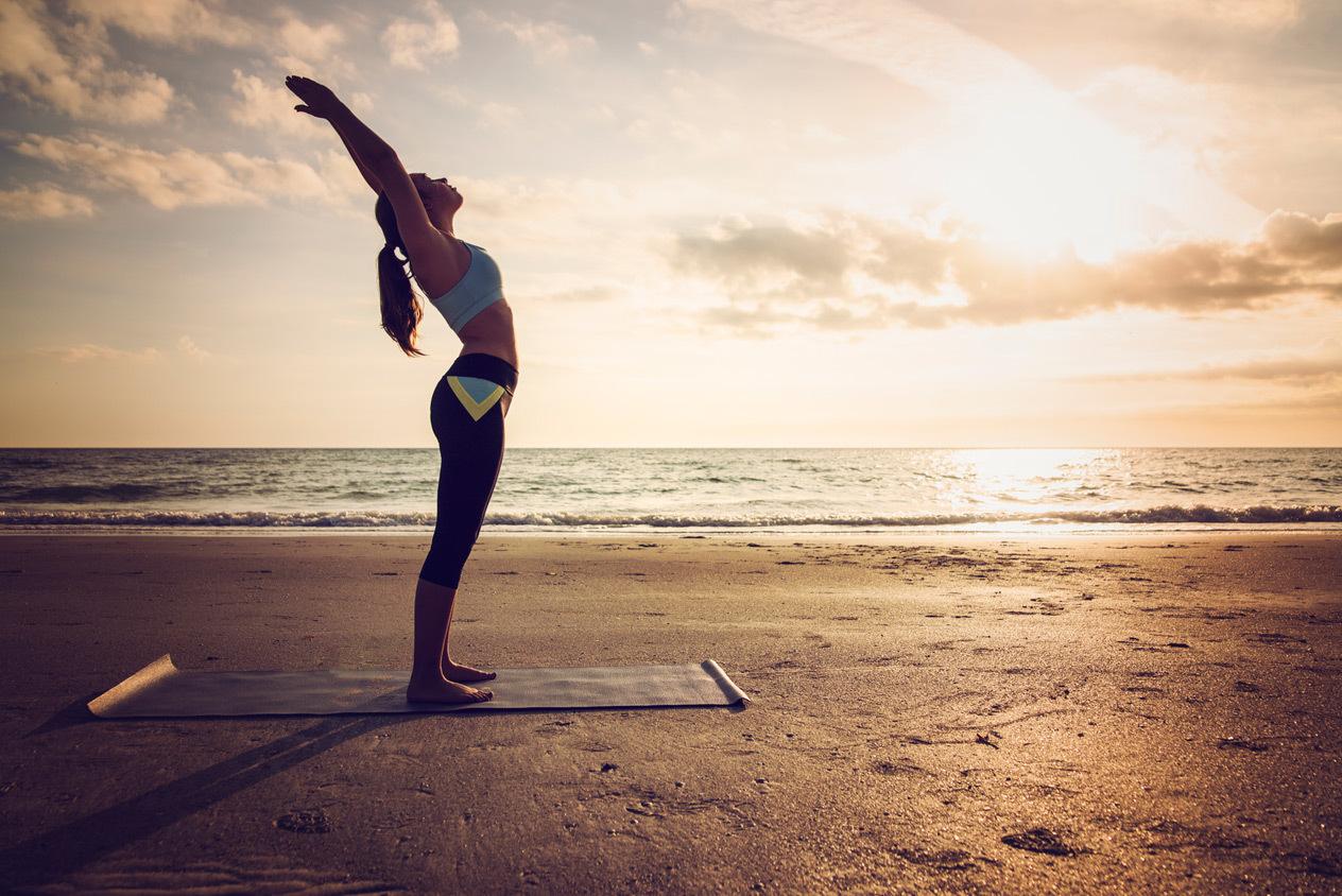 beach yoga sequence