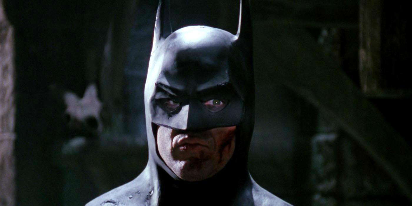 batman closeup of michael keaton 1989