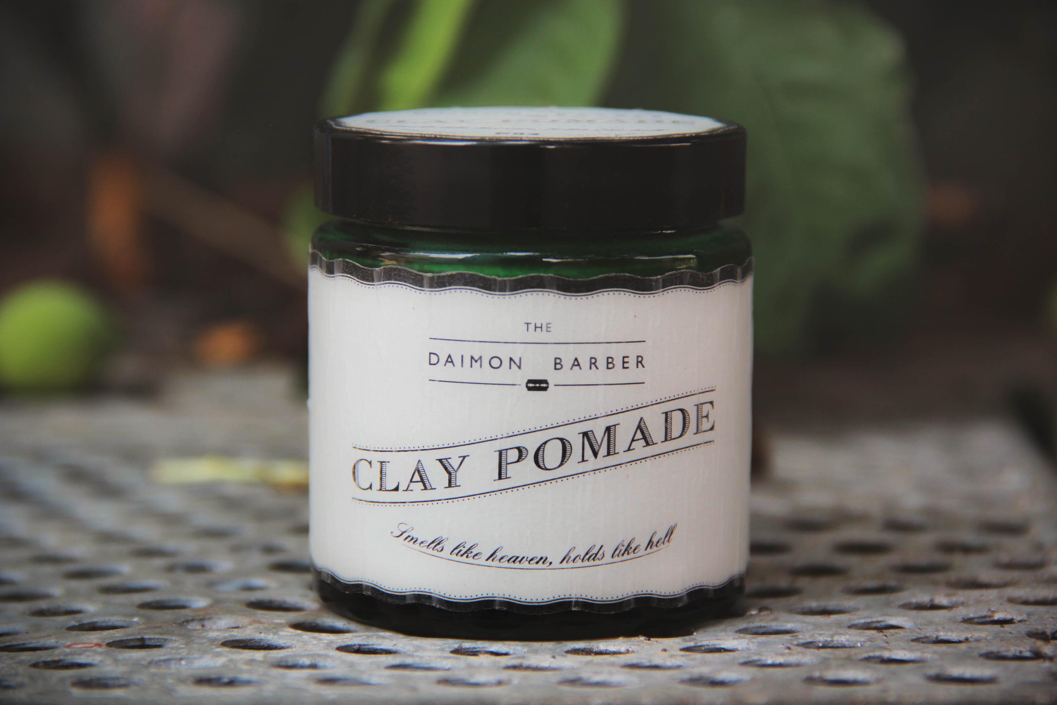The Daimon Barber No.4 Clay