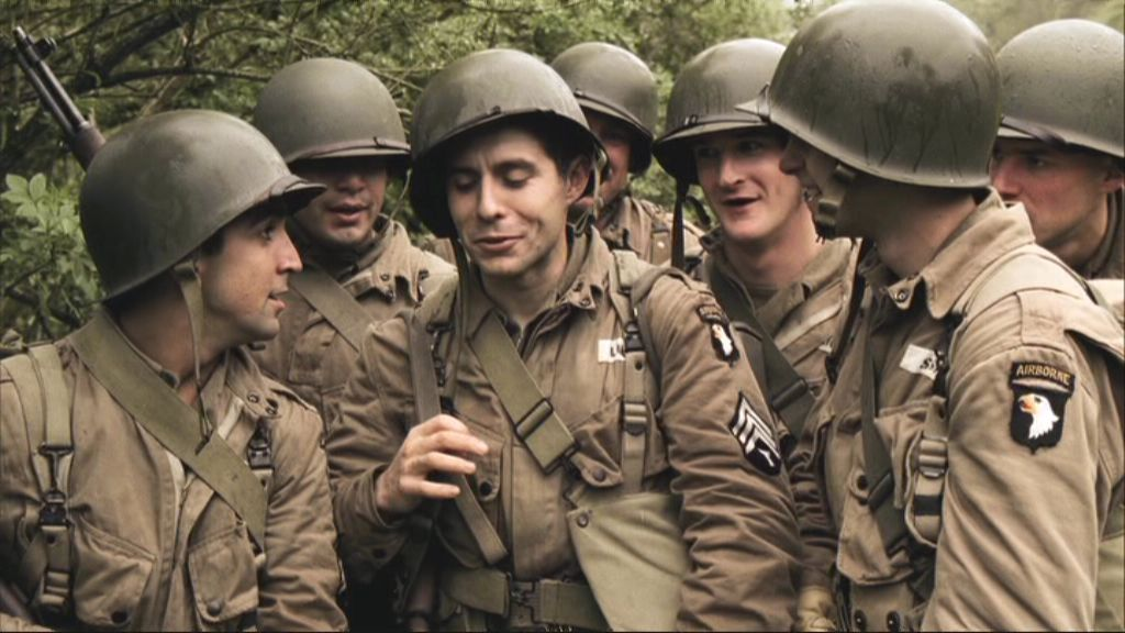 Richard in Band of Brothers Part 1 Currahee richard speight jr 12842392 1024 576