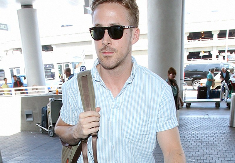 style blogs the gq eye ryan gosling short sleeve shirt