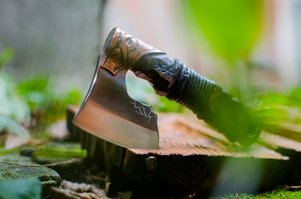 warrior axe straight razor 34148