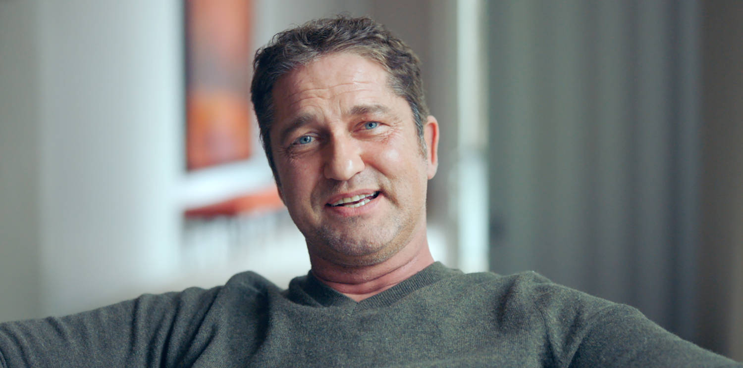 real story Gerard Butler