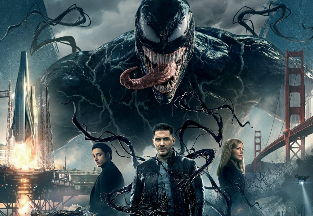 venom movie post credits explained