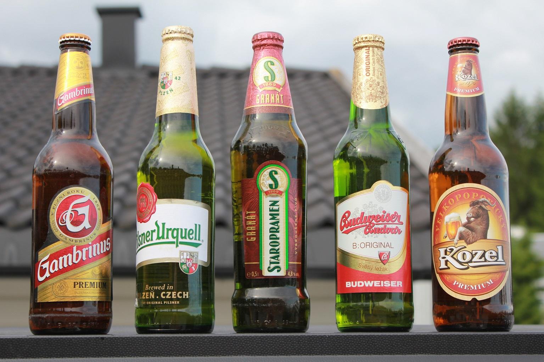 Prague Czeck beer