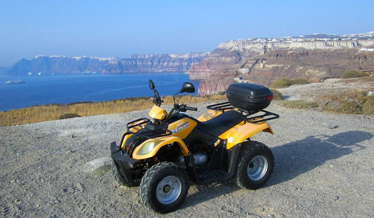 santorini quad bike