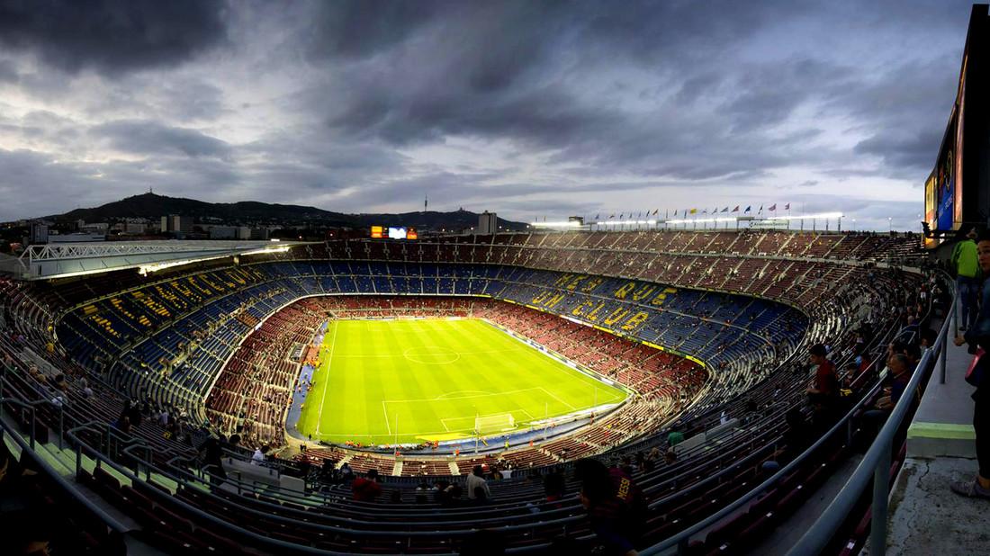 Free runners μπουκάρουν στο «Camp Nou»