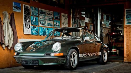 Παραμέρισε για να περάσει η Porsche 911 2.7 RSH