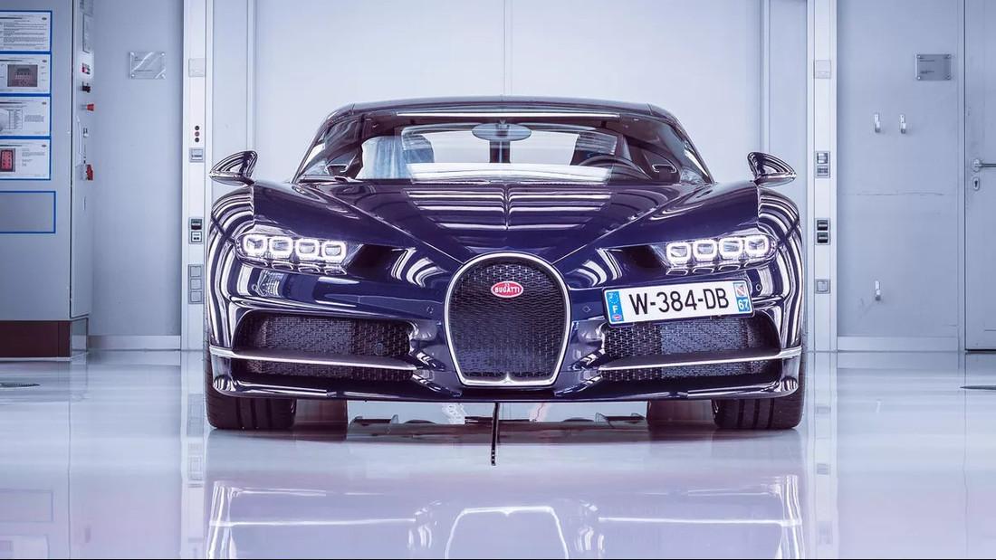 Έτσι συναρμολογείται μια Bugatti Chiron