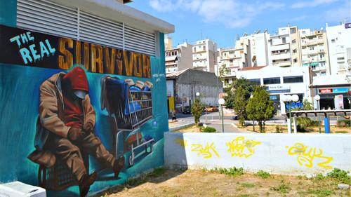 Μιλήσαμε με τον άνθρωπο που έκανε γκράφιτι το αληθινό Survivor