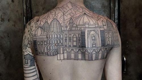 Η αρχιτεκτονική είναι η νέα μόδα στα τατουάζ