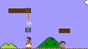 Δείτε τον Νεϊμάρ να φεύγει από την Μπαρτσελόνα α λα Super Mario