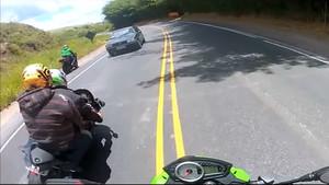 Μερικά δευτερόλεπτα πριν το ατύχημα…