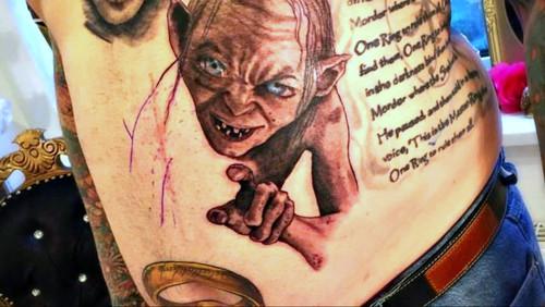 Επικά τατουάζ εμπνευσμένα από τον Άρχοντα των Δαχτυλιδιών