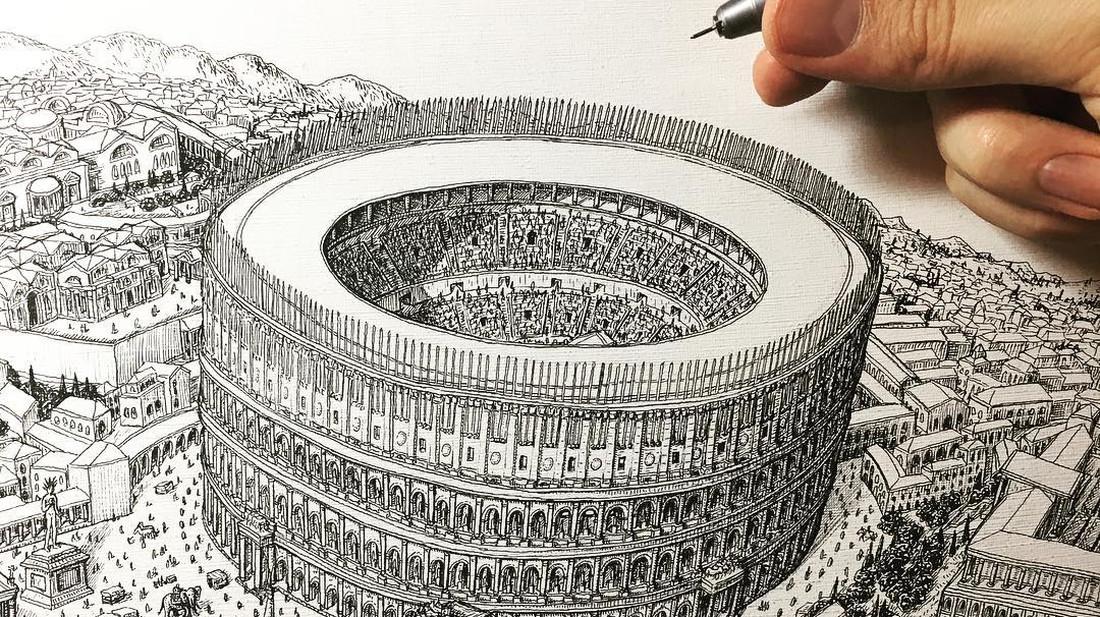 Έλα, πες την αλήθεια, δεν το ζωγράφισες όλο αυτό με το μολύβι σου