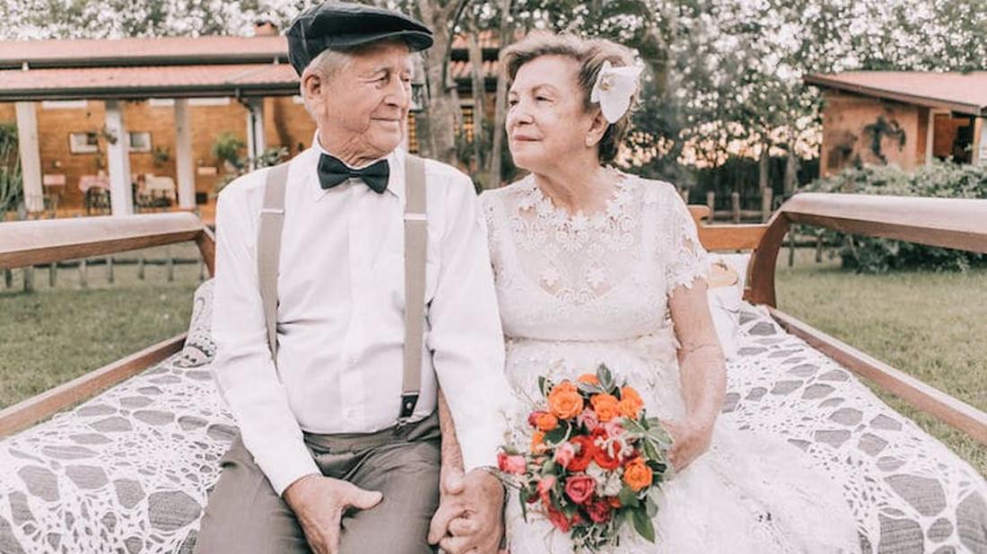 Δείτε τι σκέφτηκε ένα ζευγάρι 60 χρόνια παντρεμένο που δεν είχε φωτογραφίες από το γάμο του!