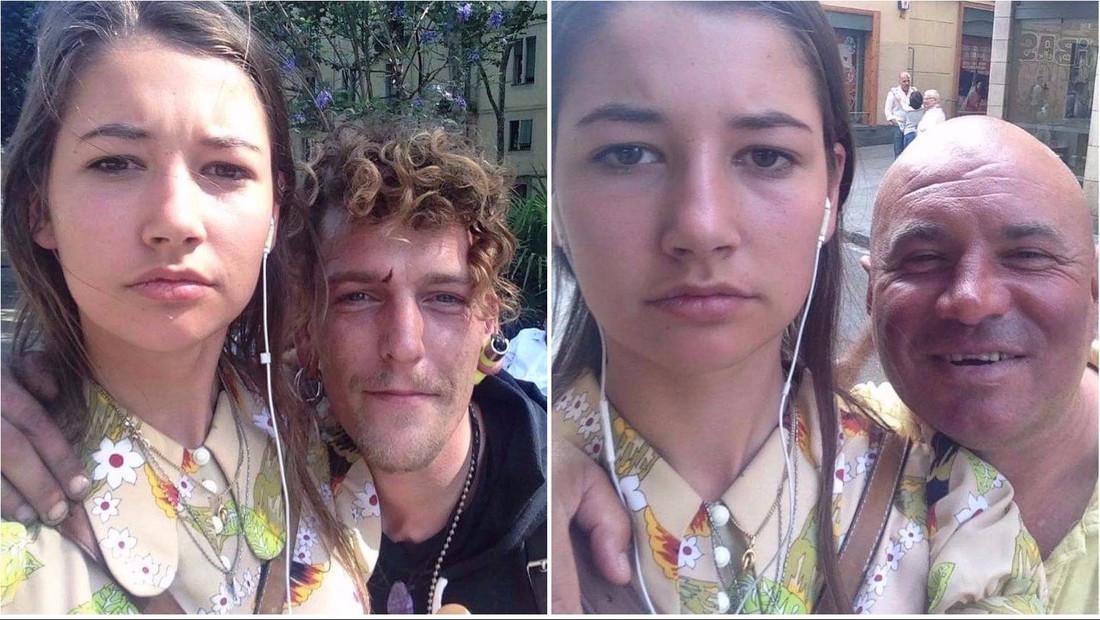 20χρονη ξεφτιλίζει τους πέφτουλες που την παρενοχλούν αισχρά στο δρόμο