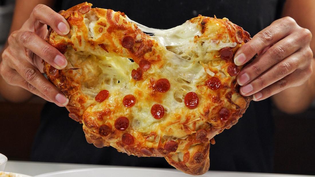 Τρία ζήτω για την δημιουργία του πρώτου πίτσα-πρέτζελ