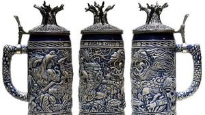 Νιώσε Βίκινγκ με κούπες μπύρας που απεικονίζουν το Ράγκναροκ