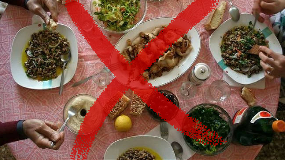 Ας το παραδεχτούμε επιτέλους: Τα φαγητά της Καθαράς Δευτέρας είναι ΓΙΑ ΚΛΩΤΣΕΣ!