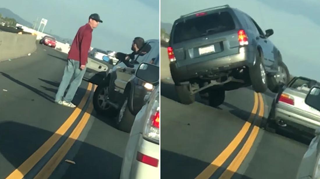 Αυτό το βίντεο είναι η απόδειξη ότι ΔΕΝ μπλέκεις σε οδηγικούς καβγάδες
