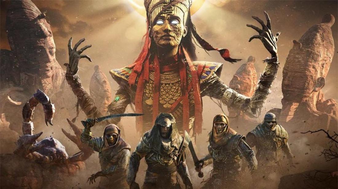 Μόλις κατέφθασαν οι Walking Dead του Assassin's Creed Origins