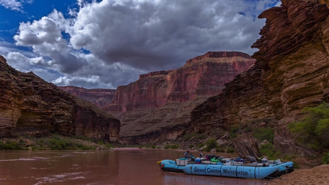 Θα έκανες ποτέ ράφτινγκ στο Grand Canyon;