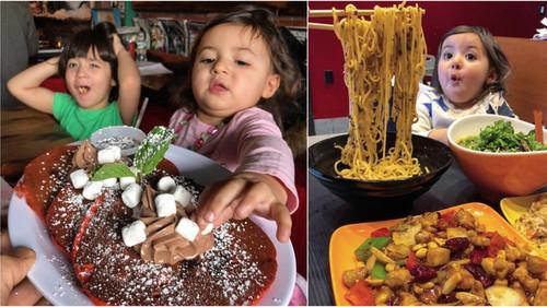 Πατέρας σερβίρει στα πιτσιρίκια του λιγουρευτικά πιάτα και καταγράφει αντιδράσεις