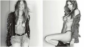 Η πρώτη MILF φωτογράφηση της Heidi Klum