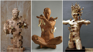 Όταν το «Αγαλματάκια Ακούνητα» από παιχνίδι γίνεται τέχνη