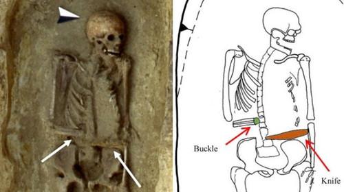 Ζόρικος: Αυτός εδώ ο Assassin's Creed σκελετός βρέθηκε με λεπίδα στο ακρωτηριασμένο χέρι του