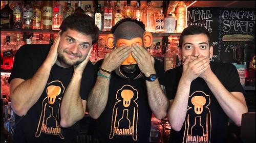 Μια «ελληνική» Μαϊμού μεθάει τη Μαδρίτη