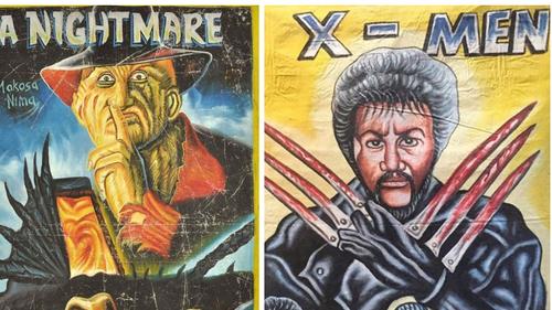 Κάποτε στην Αφρική εκτελούσαν ΕΝ ΨΥΧΡΩ τα poster διάσημων ταινιών