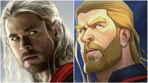 Αυτός ο τύπος επαναφέρει τους ήρωες της Marvel στην αρχική, καρτουνίστική τους μορφή