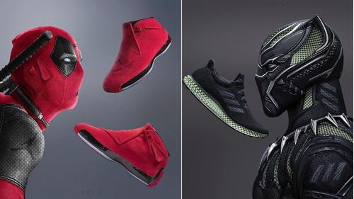 Τι σόι sneakers θα φορούσαν ο Deadpool και ο Black Panther αν έβγαιναν για μπασκετάκι;