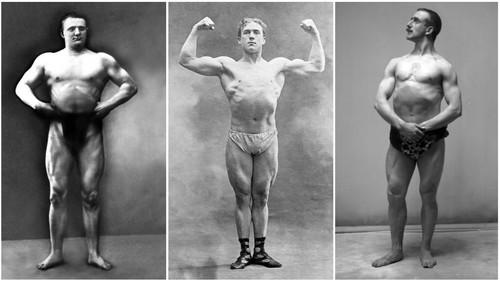 Τους λες και λίγο τσιλιβήθρες τους bodybuilderάδες των αρχών του 20ού αιώνα