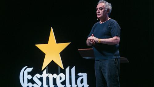 Ο Ferran Adrià, βρέθηκε στην Ελλάδα για το Estrella Damm Gastronomy Congress