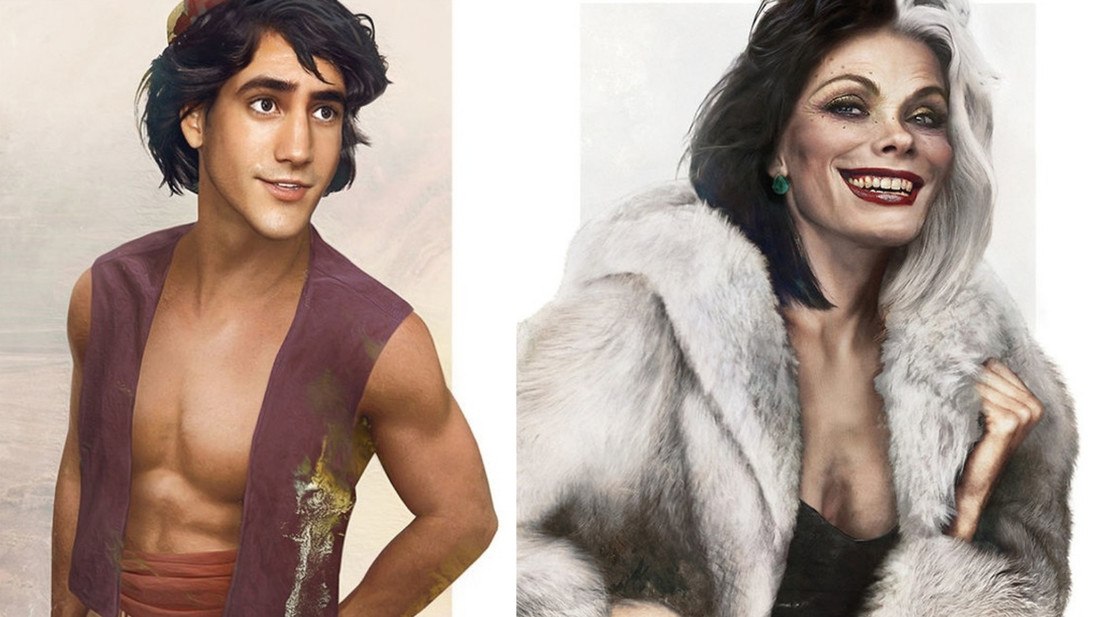 18 αγαπημένοι ήρωες καρτούν στο λίγο πιο ανθρώπινο