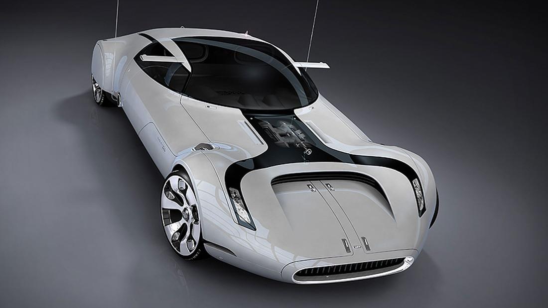 Αν αυτό δεν είναι αμάξι του μέλλοντος τότε ποιο;