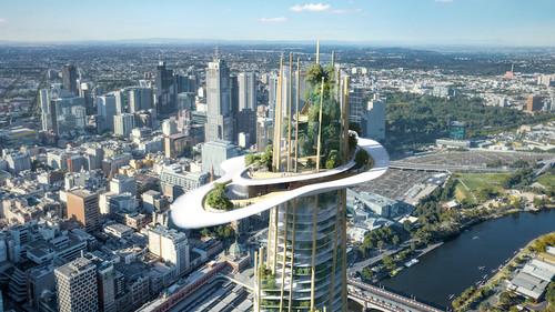 Έλα να δεις ένα βουνό χτισμένο σε ουρανοξύστη της Μελβούρνης