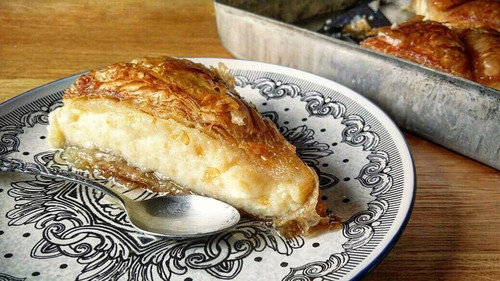Συνταγή για κορυφαίο γαλακτομπούρεκο
