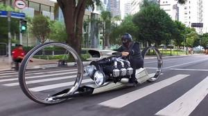 Δεν μπορεί να είναι από τον πλανήτη Γη αυτή η μοτοσικλέτα!