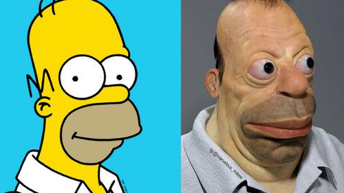 Πόσο ομορφάντρας είσαι, ρε Homer Simpson;