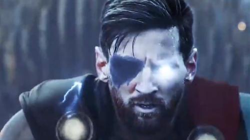 O Mέσι σε ρόλο Thor, ο Κριστιάνο Terminator και δε συμμαζεύεται