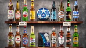 Πώς θα ήταν οι 32 ομάδες του Champions League αν ήταν μπουκάλια μπίρας;