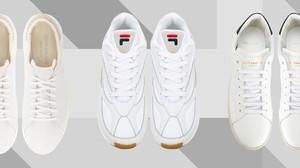 8 ολοκαίνουργια λευκά sneakers για το φθινόπωρο