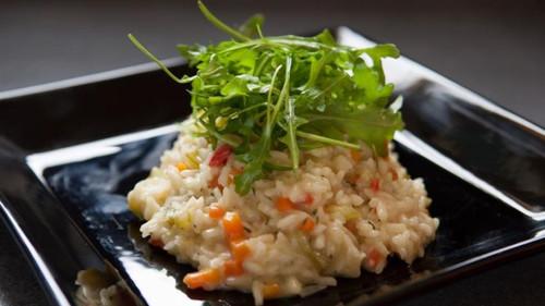 Κρεμώδες ριζότο λαχανικών